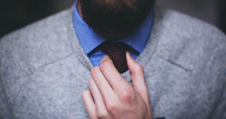 So trägt man(n) die Krawatte richtig